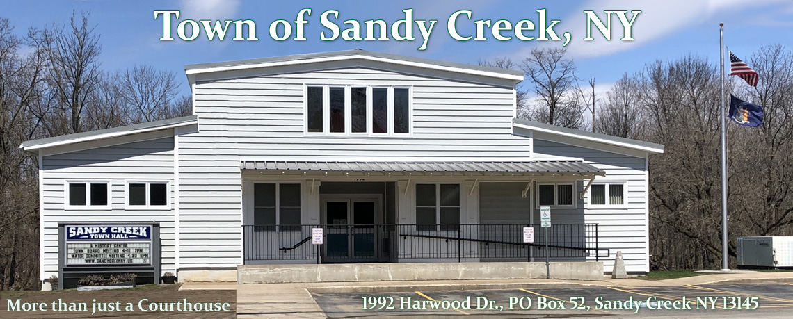 Sandy Creek, NY Town Hall